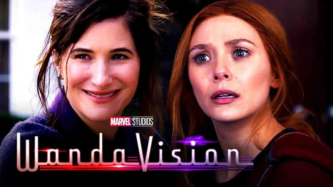 WandaVision Kathryn Hahn Elizabeth Olsen