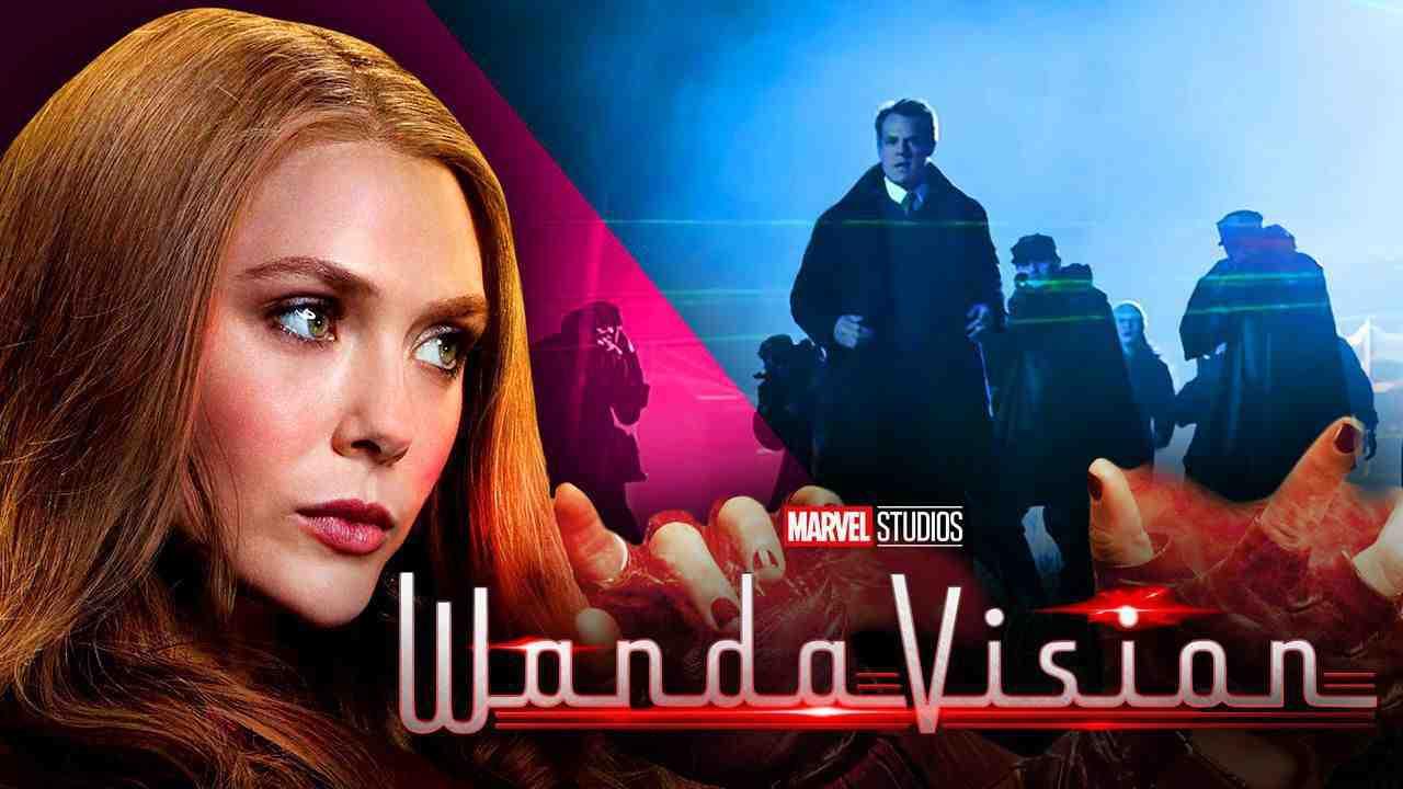 Scarlet Witch, WandaVision trailer scene