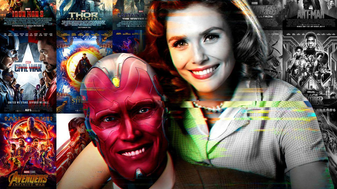Vision, Scarlet Witch, Marvel posters