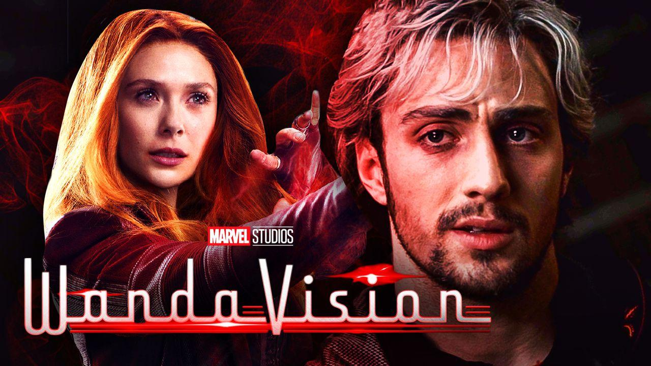 WandaVision Aaron Taylor Johnson Scarlet Witch