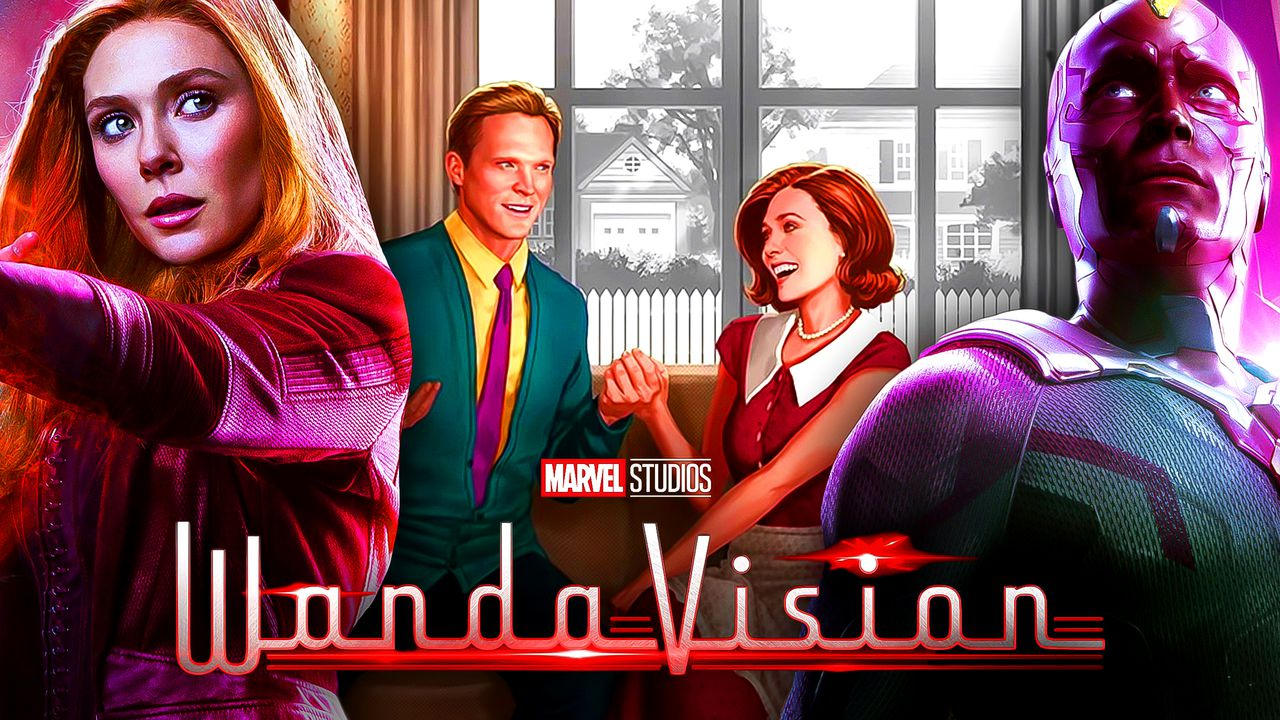 WandaVision Scarlet Witch Vision