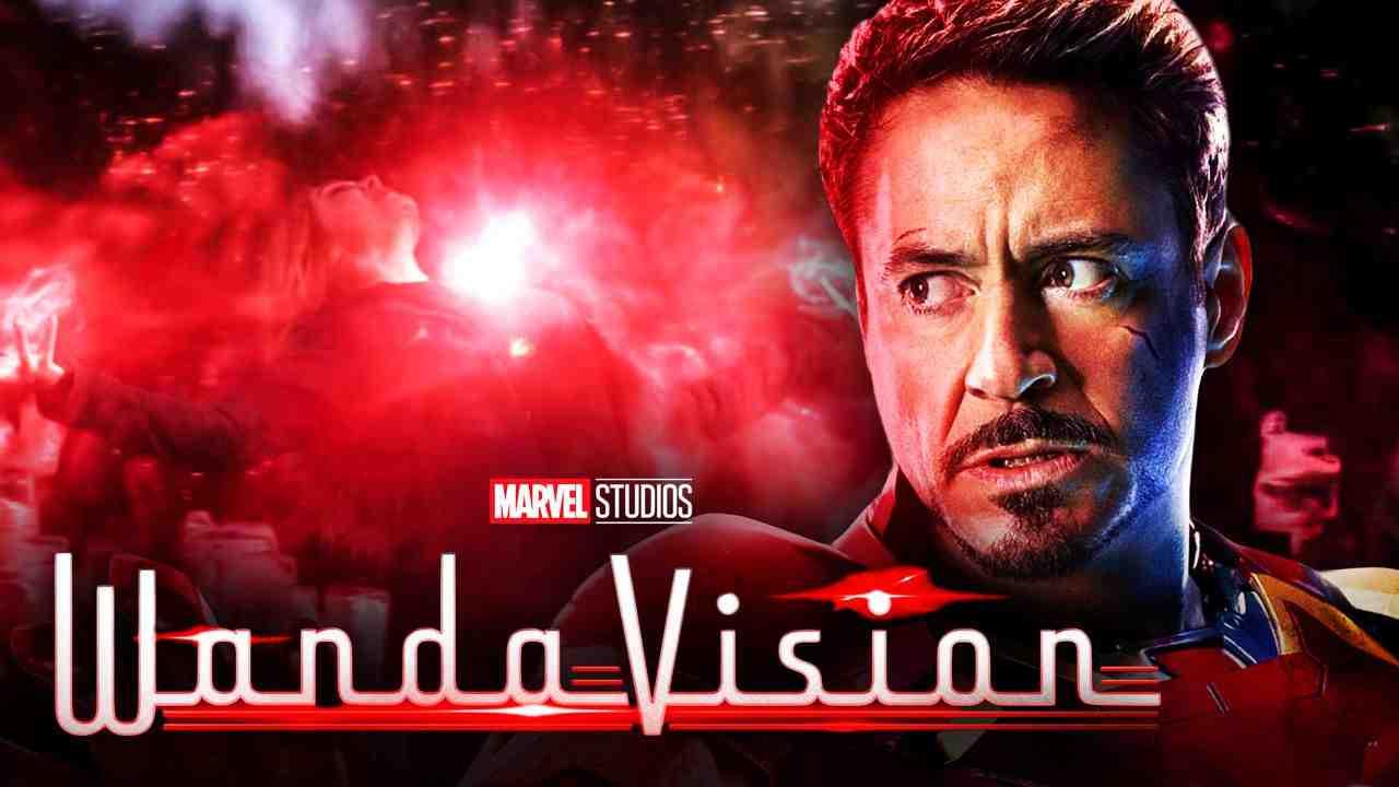Robert Downer Jr Tony Stark WandaVision Logo