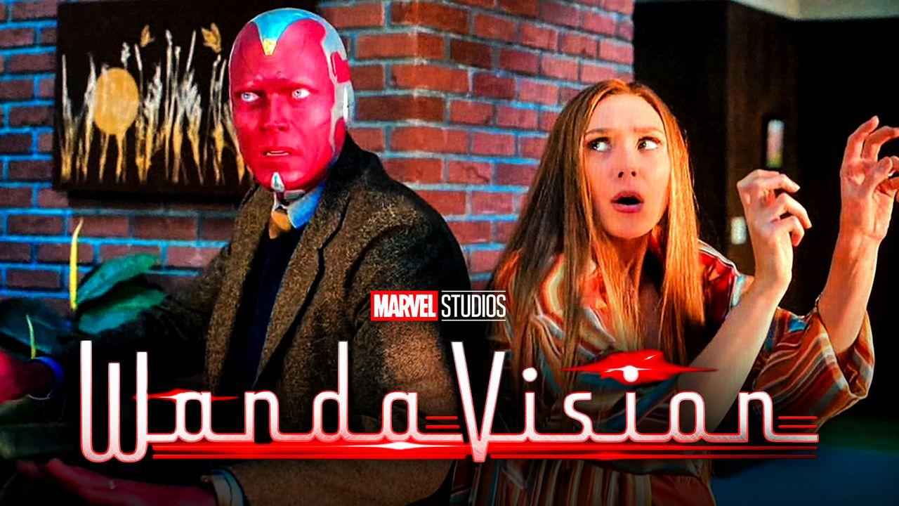 WandaVision still, title