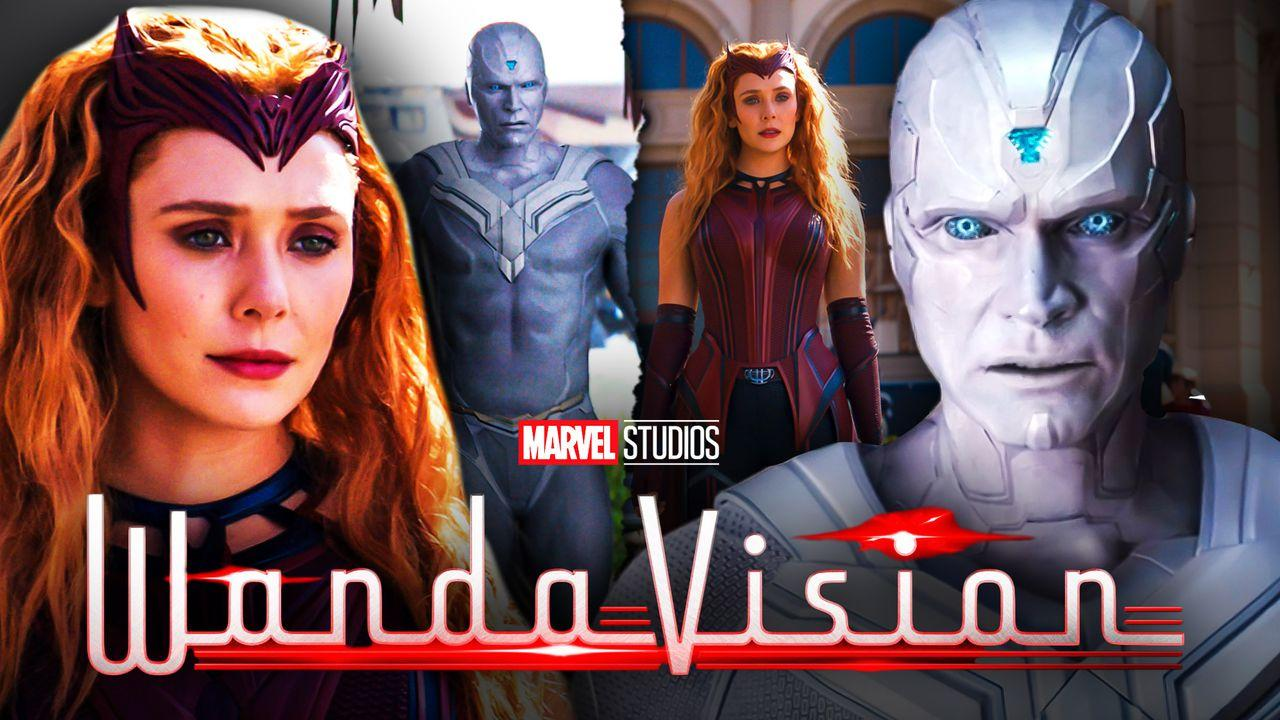 WandVision Scarlet Witch White Vision