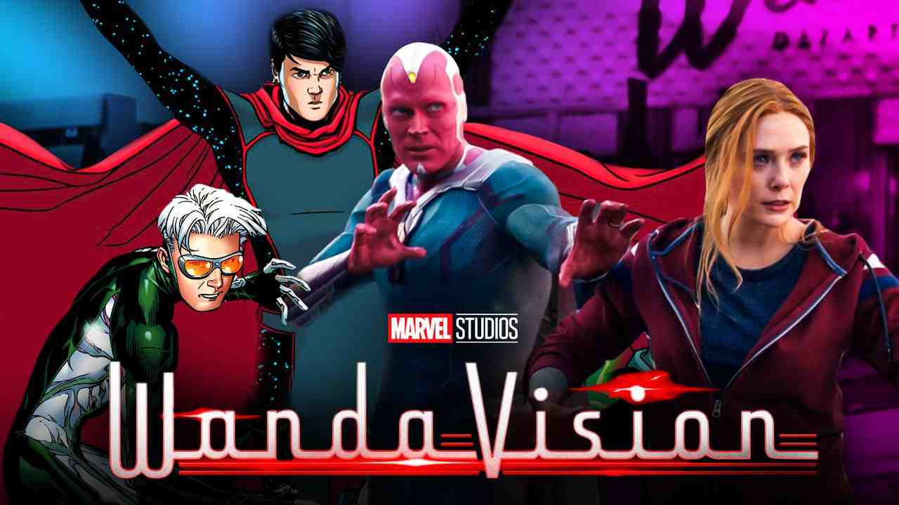 Wiccan Spped WandaVision Young Avengers