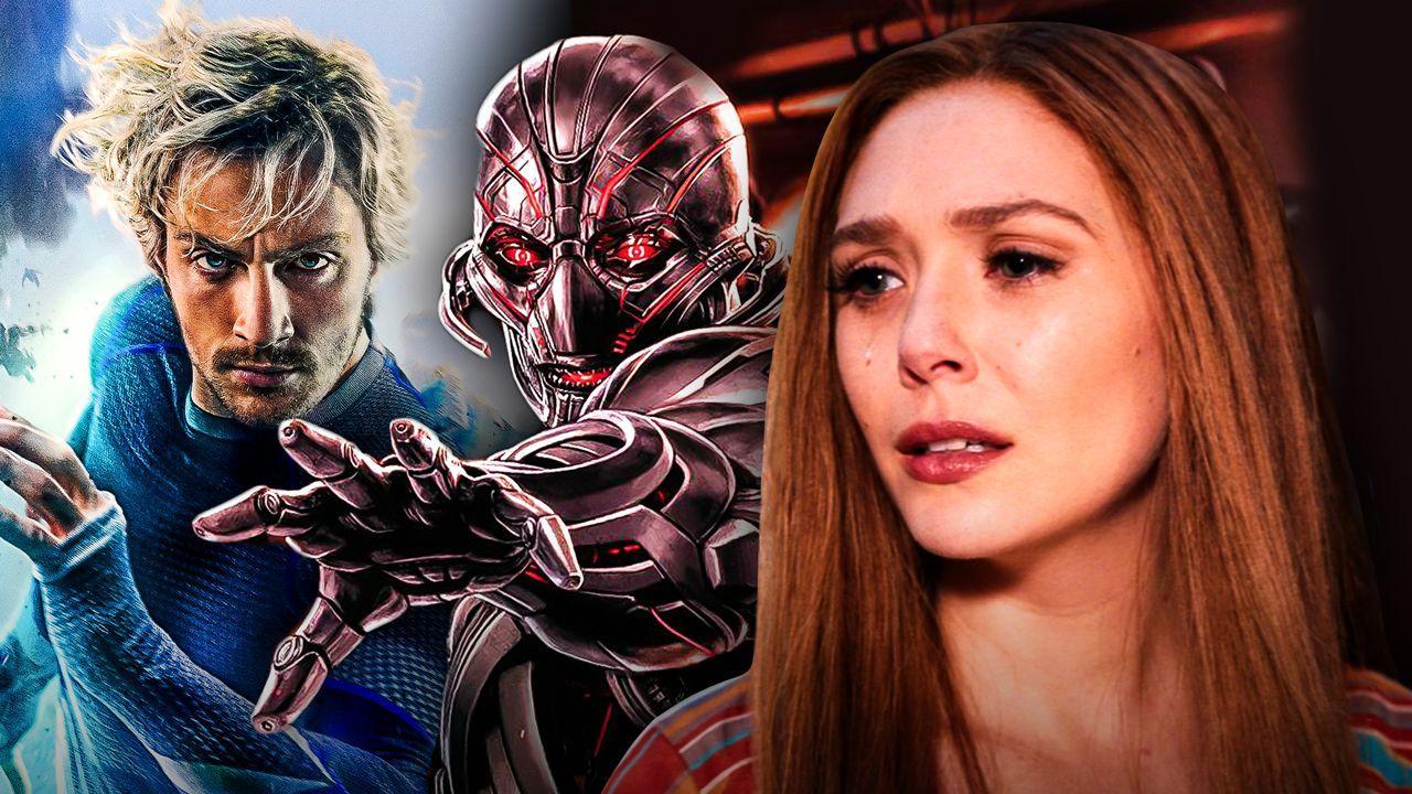 Quicksilver, Ultron, Wanda