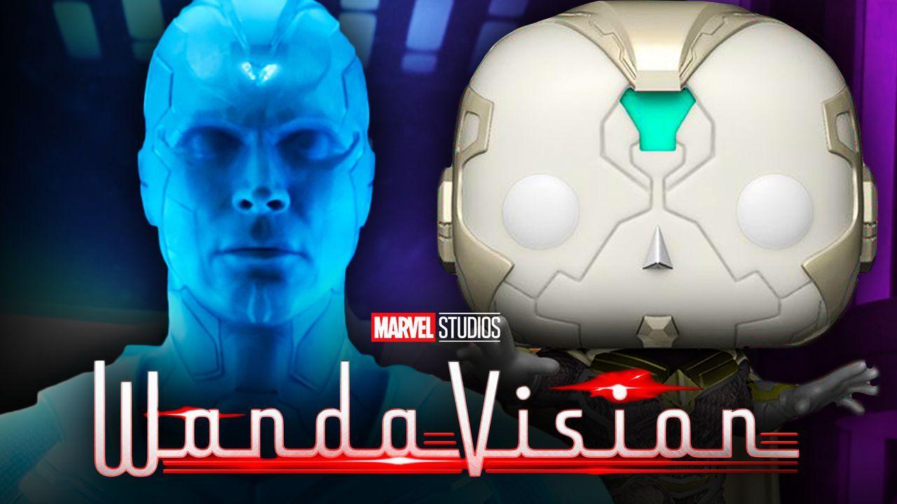 WandaVision White Vision Funko