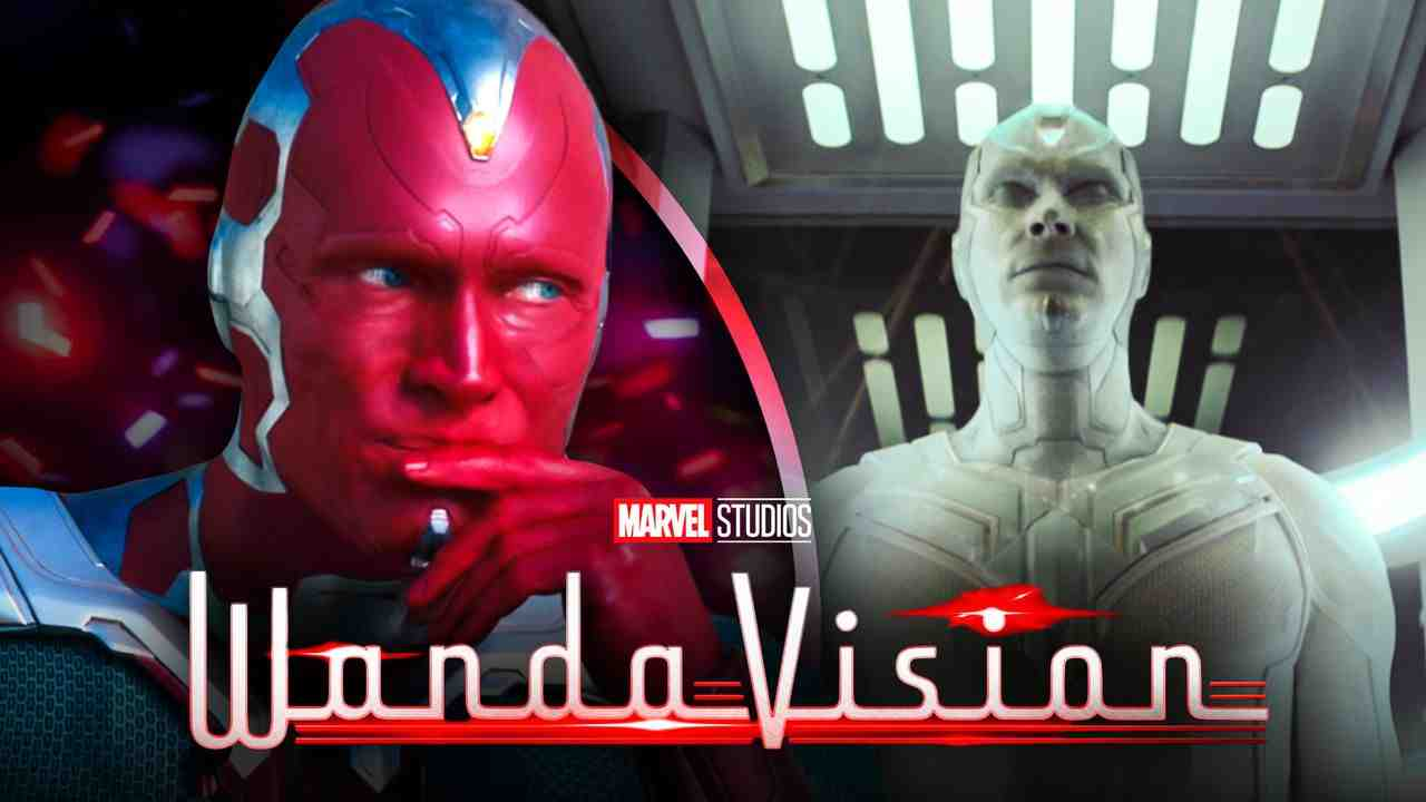 Paul Bettany as Vision, White Vision, WandaVision