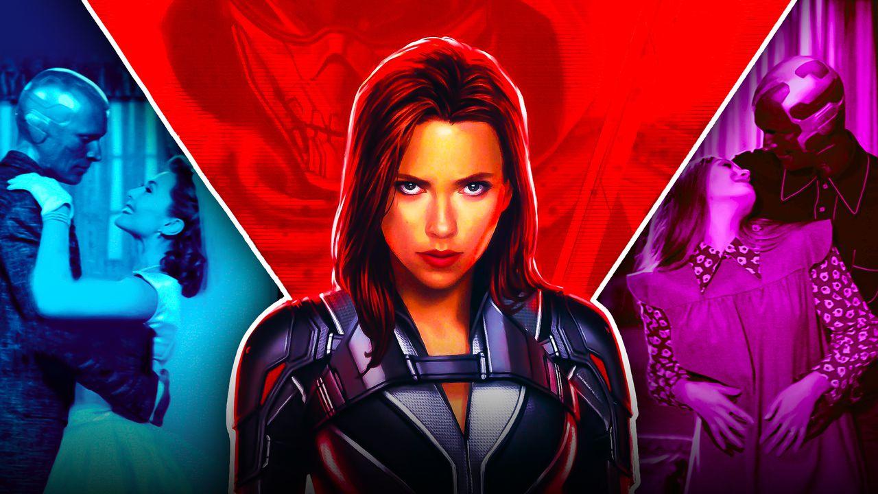Black Widow, Wanda, Vision