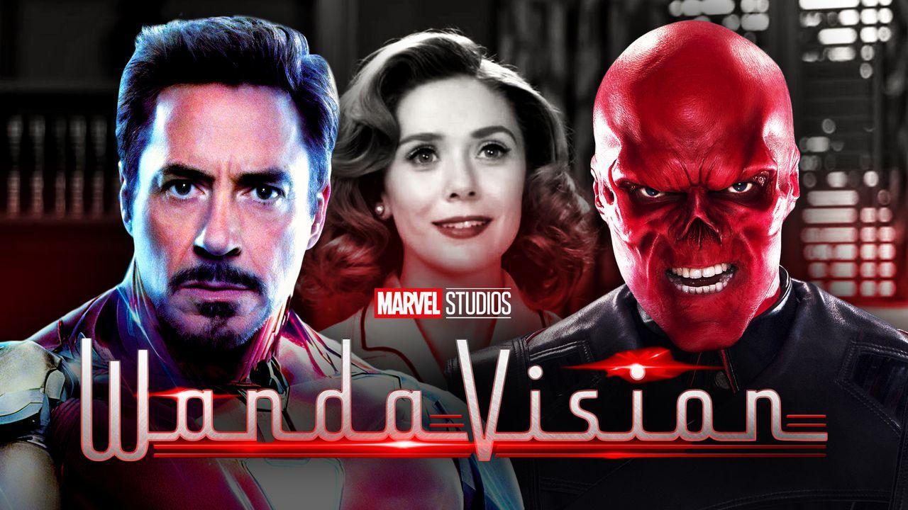 Tony Stark, Wanda, Red Skull