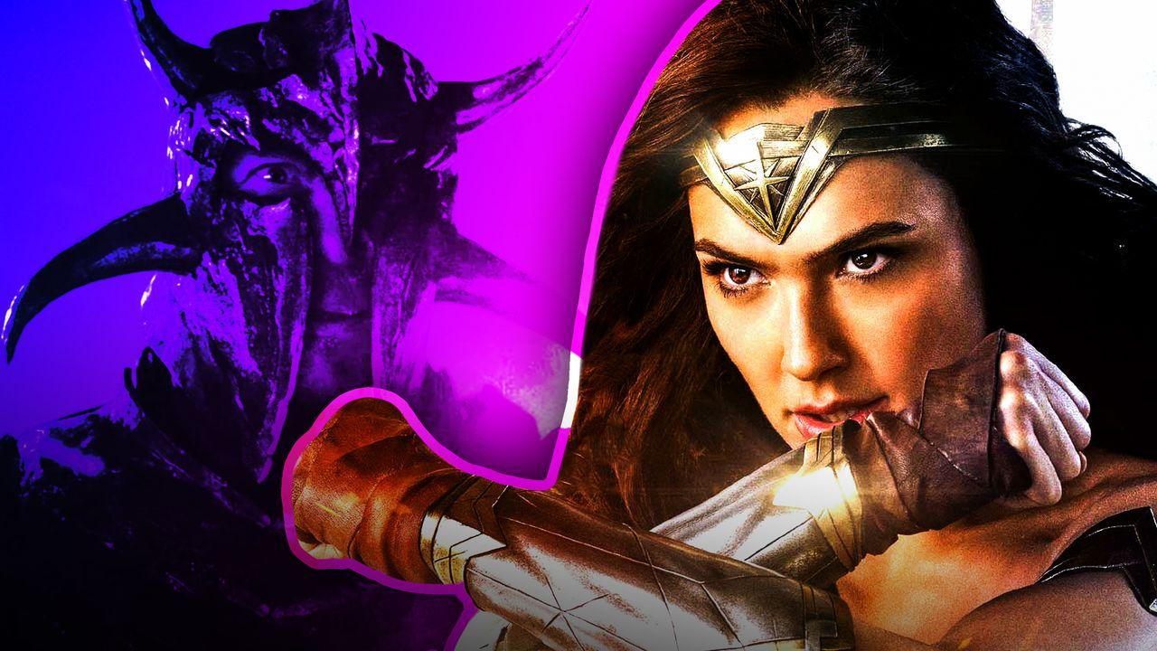 Ares and Wonder Woman