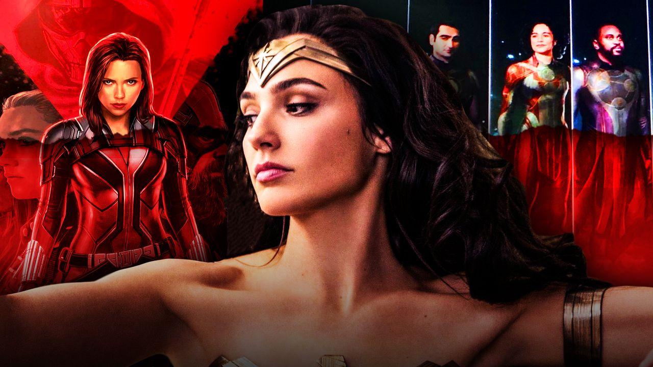 Black Widow, Wonder Woman, Eternals
