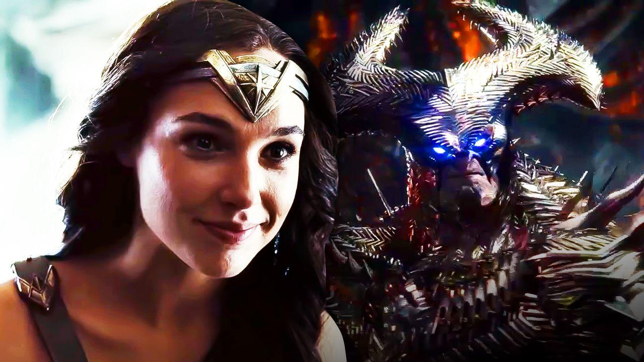 Gal Gadot as Wonder Woman, Steppenwolf