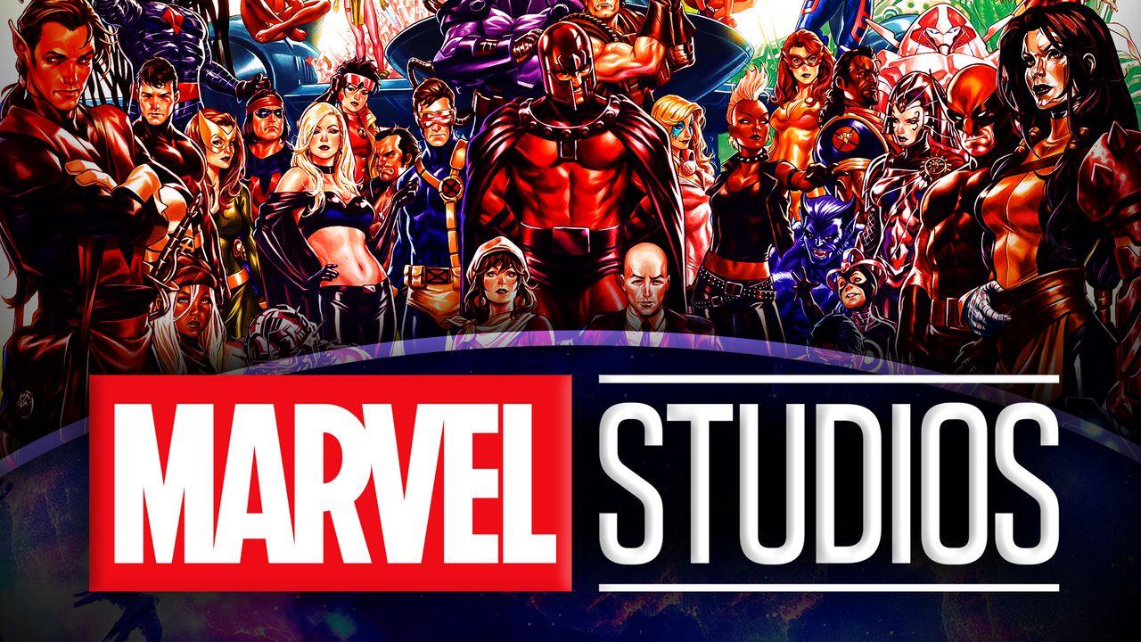 X-Men Marvel Studios logo