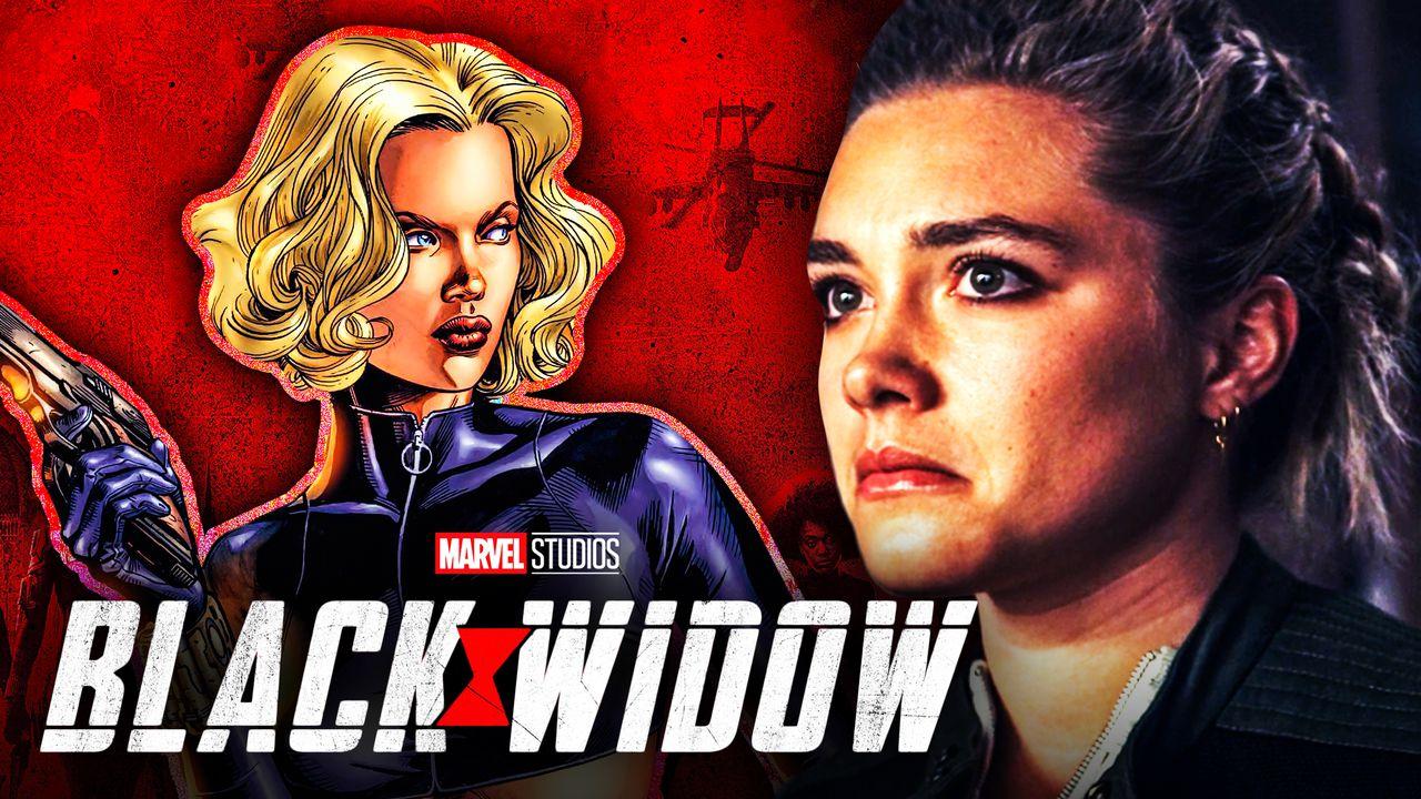 Yelena Florence Pugh Black Widow Comic