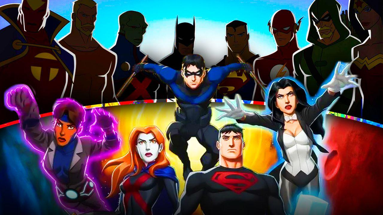 Young Justice, Justice League