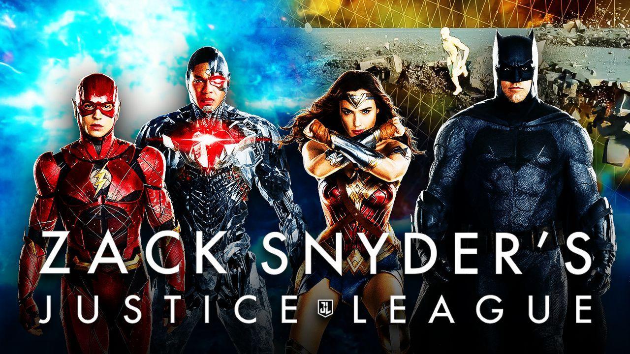 Flash, Cyborg, Wonder Woman, Batman, Zack Snyder's Justice League