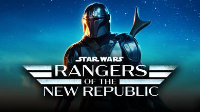 The Mandalorian, Rangers of the New Republic logo