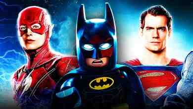 Lego Batman, Ezra Miller's Flash, Henry Cavill's Superman
