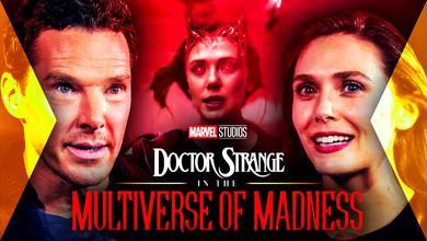 Doctor Strange, Marvel, MCU, Wanda, Elizabeth Olsen, Benedict Cumberbatch