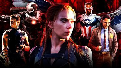Marvel Heroes Black Widow Captain America Hawkeye Characters