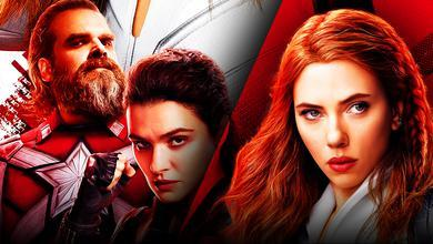 Black Widow, Scarlett Johansson, David Harbour, Rachel Weisz