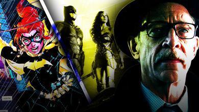 JK Simmons as Jim Gordon, Batgirl, Batman, Wonder Woman