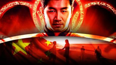 Shang-Chi, Eternals, Chinese flag