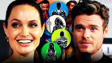 Angelina Jolie, Eternals, Richard Madden