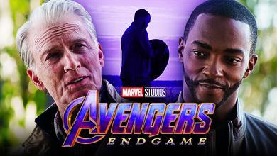 Avengers: Endgame, Cap and Sam