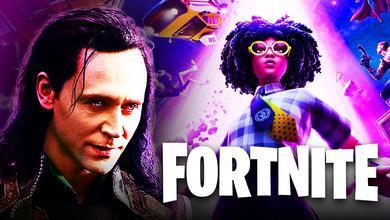 Loki, Fortnite, Invasion Season 7 Poster