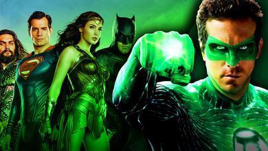 Justice League, Ryan Reynolds as Green Lantern
