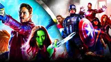 Guardians of the Galaxy Marvel's Avengers video game