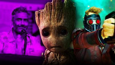 Taika Waititi, Baby Groot, Star-Lord
