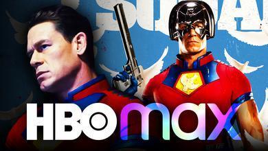 John Cena Peacemaker HBO Max logo