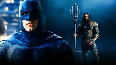Batman and Aquaman Justice League