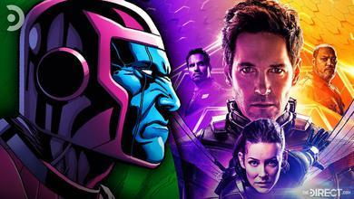 Kang the Conqueror and Ant-Man poster
