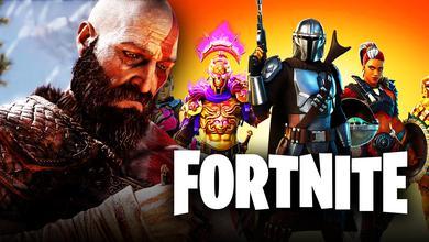 Kratos and Fortnite Season 5