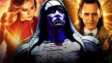 Captain Marvel Loki Kree