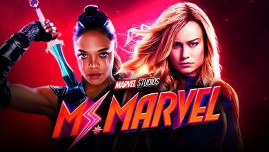 Captain Marvel and Valkyrie
