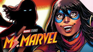Ms. Marvel comic silhouette,  Ms. Marvel comic