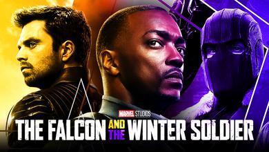 Anthony Mackie as Sam Wilson, Sebastian Stan as Bucky, Daniel Bruhl as Baron Zemo