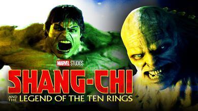 Incredible Hulk Abomination Shang-Chi logo