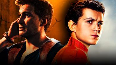 Nathan Drake, Tom Holland as Peter Parker