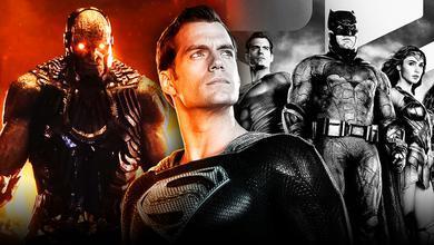 Superman Darkseid Justice League