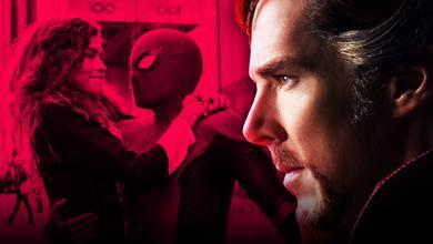 Spider-Man and Zendaya as MJ, Benedict Cumberbatch as Doctor Strange