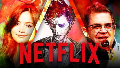 Netflix logo, Sandman, Jenna Coleman, Patton Oswalt