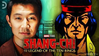 Simu Liu, Shang-Chi, Shang-Chi and the Legend of the Ten Rings Logo