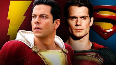Shazam and Superman Symbols together