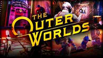 The Outer Worlds characters and title